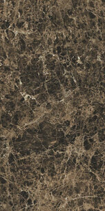 BIJOUX MARRON IMPERIAL GLOSSY 60X120 RET (766335) 60x120 Глазурованный керамогранит