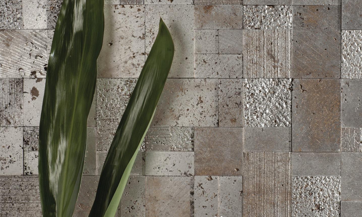 Мозаика на сетке. Мозаика из натурального камня