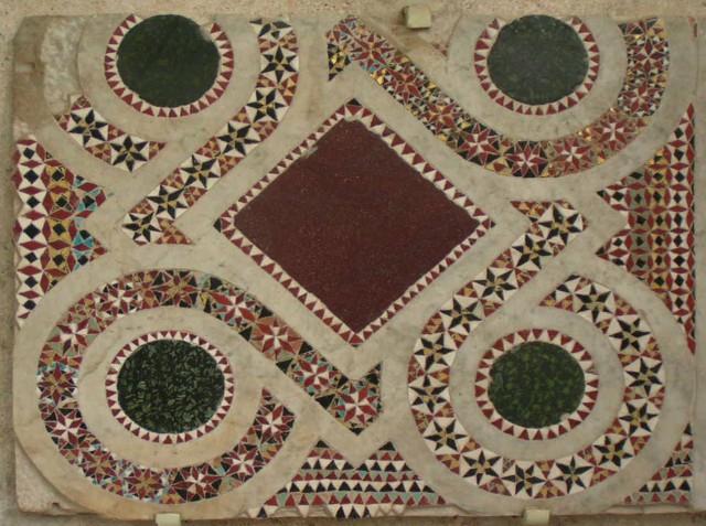 Каменная мозаика. Древняя мозаика