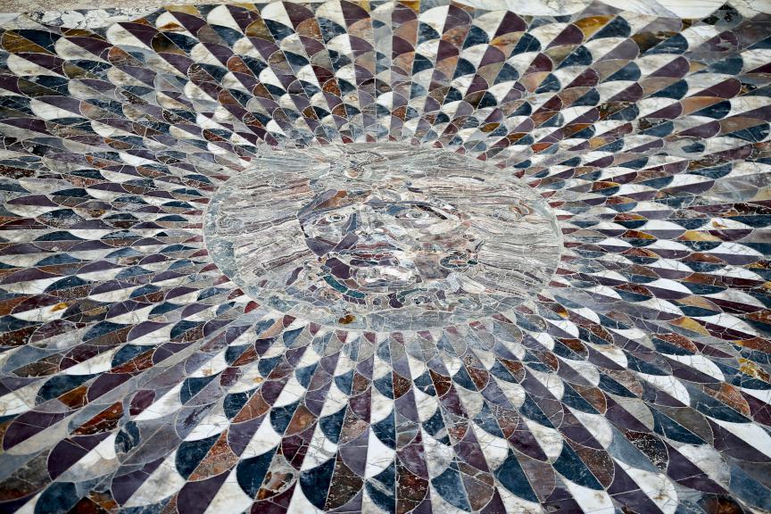 Каменная мозаика. Мозаика из мрамора